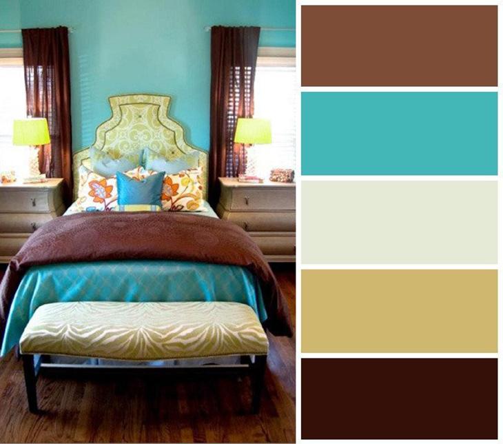 коричневый цвет сочетание с другими цветами признаться