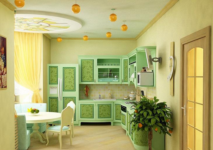 sochetaniye-zelenogo-tsveta-v-interyere