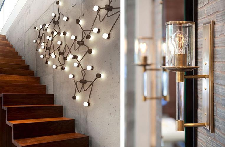 Установка и подключение настенного светильника