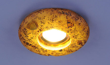 потолочный светильник со светодиодами