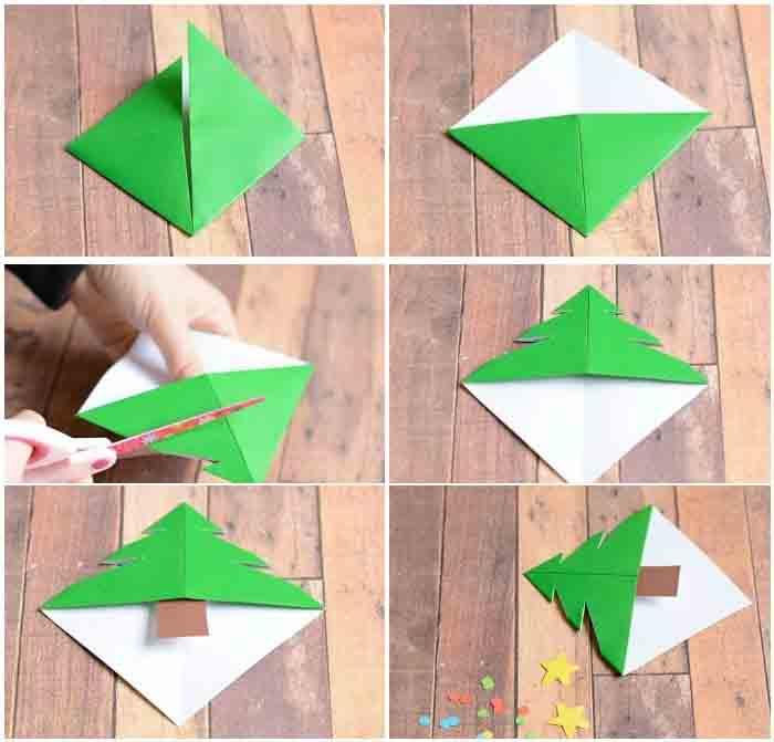 origami-yelochka